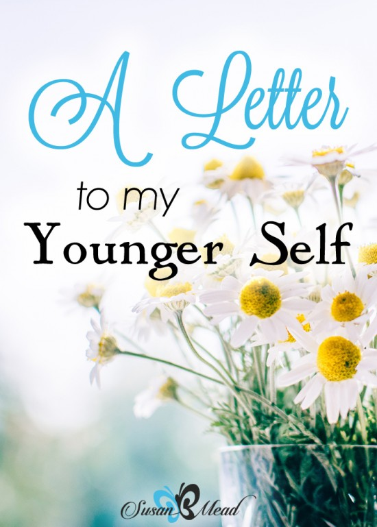 A letter to my much younger self. Had I known then what I know now, I'd been a woman covered by God's graceful presence and no longer full of myself sooner.