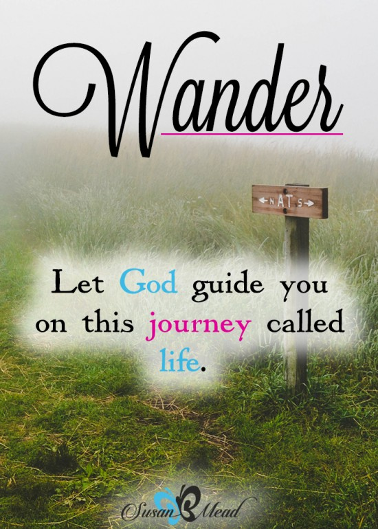 I never thought about it like this: Why do You, Lord, make us wander from Your ways and harden our hearts so we don't revere You?