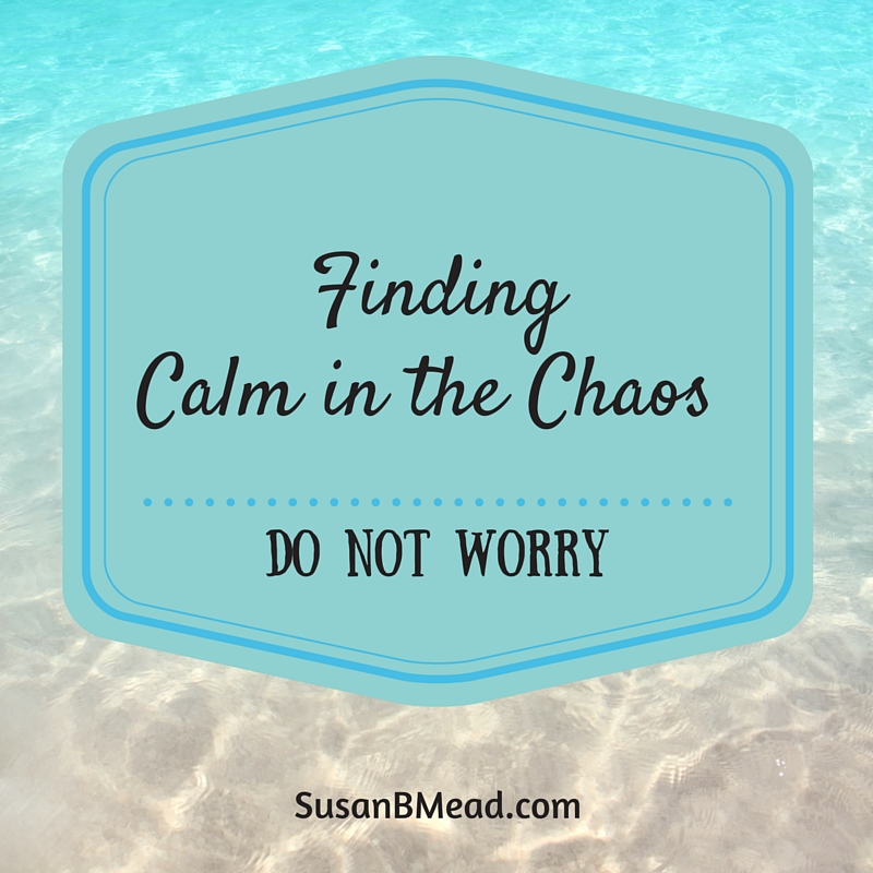 The secret to finding calm in the chaos of motherhood