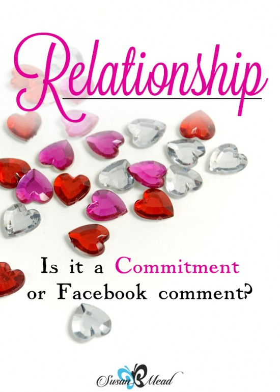 Is this a relationship you are going to try it on or tie the knot?Is it a commitment or a comment on your Facebook status? Or a covenant? Decide to face the fires together to be flameproof.