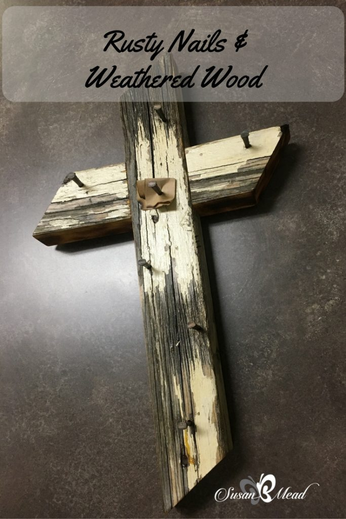 Rusty nails and weathered wood. Upon the cross with Jesus stood. All eternity. He set us free. Divinity touched humanity. God set us free you see. Come see!