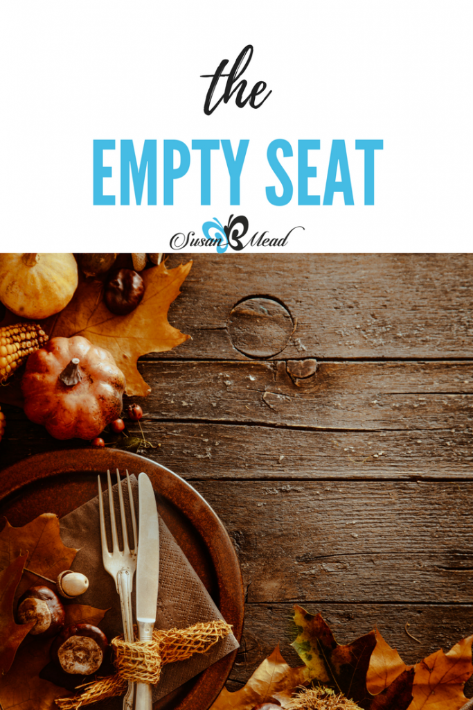 We miss the ones who go before us and leave a seat at our table empty, yet we celebrate they are in Paradise with Jesus. Yes we celebrate hope in our grief.