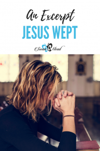 Jesus wept because His friend died. We all must die, yet that was not so when God created Adam and Eve. Jesus wept, for now we know both good and evil, yet He comes to restore us to Himself as victor over the enemy of our souls. Yes, Jesus wept, yet now we rejoice for He overcomes the enemy.