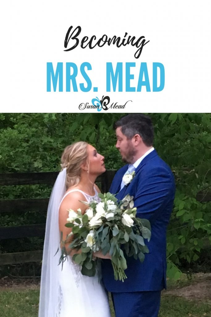 I never wanted to be Mrs. Mead. Why? It made me think of a grey haired old woman - and I did not want anything to do with that image. Would you? Yet my new daughter-in-law was eager to become Mrs. Mead. Same words, yet a world of difference in the perception of what becoming Mrs. Mead entails. Join the festivities!